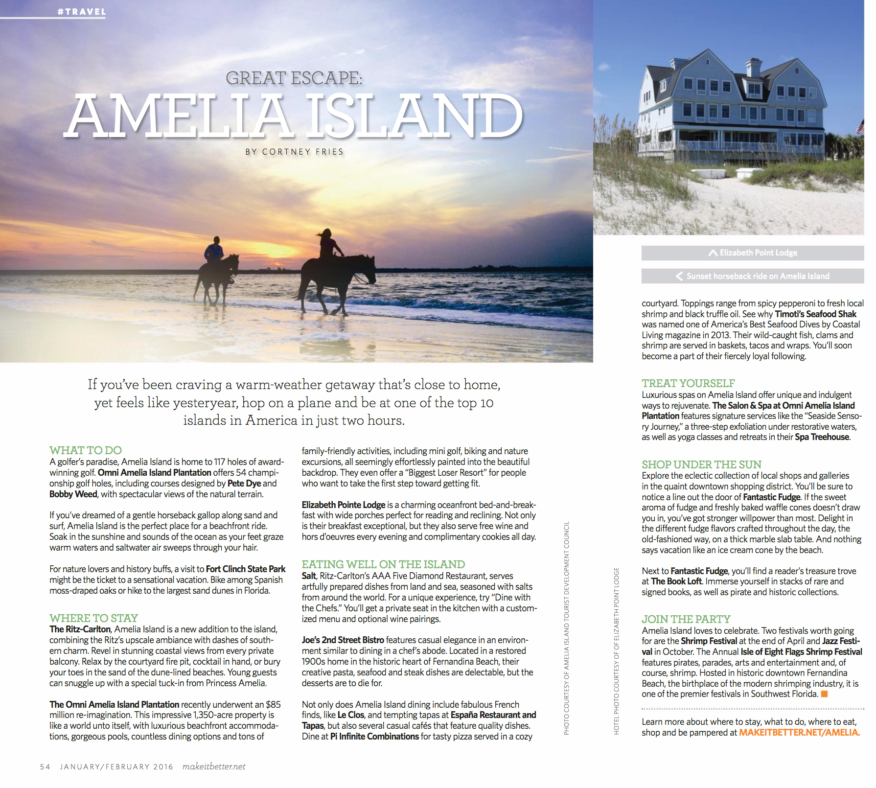Amelia Island, One Of The Top 10 Islands In America, Is